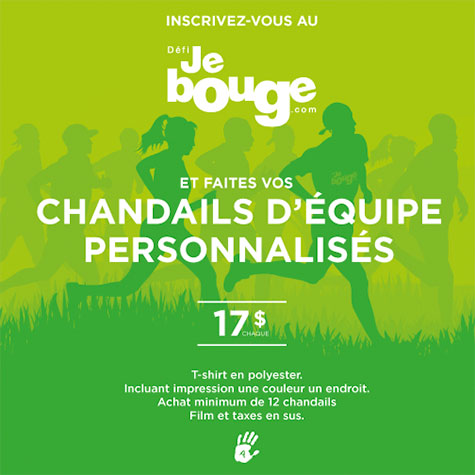 This week-end is the popular Je Bouge ! challenge
