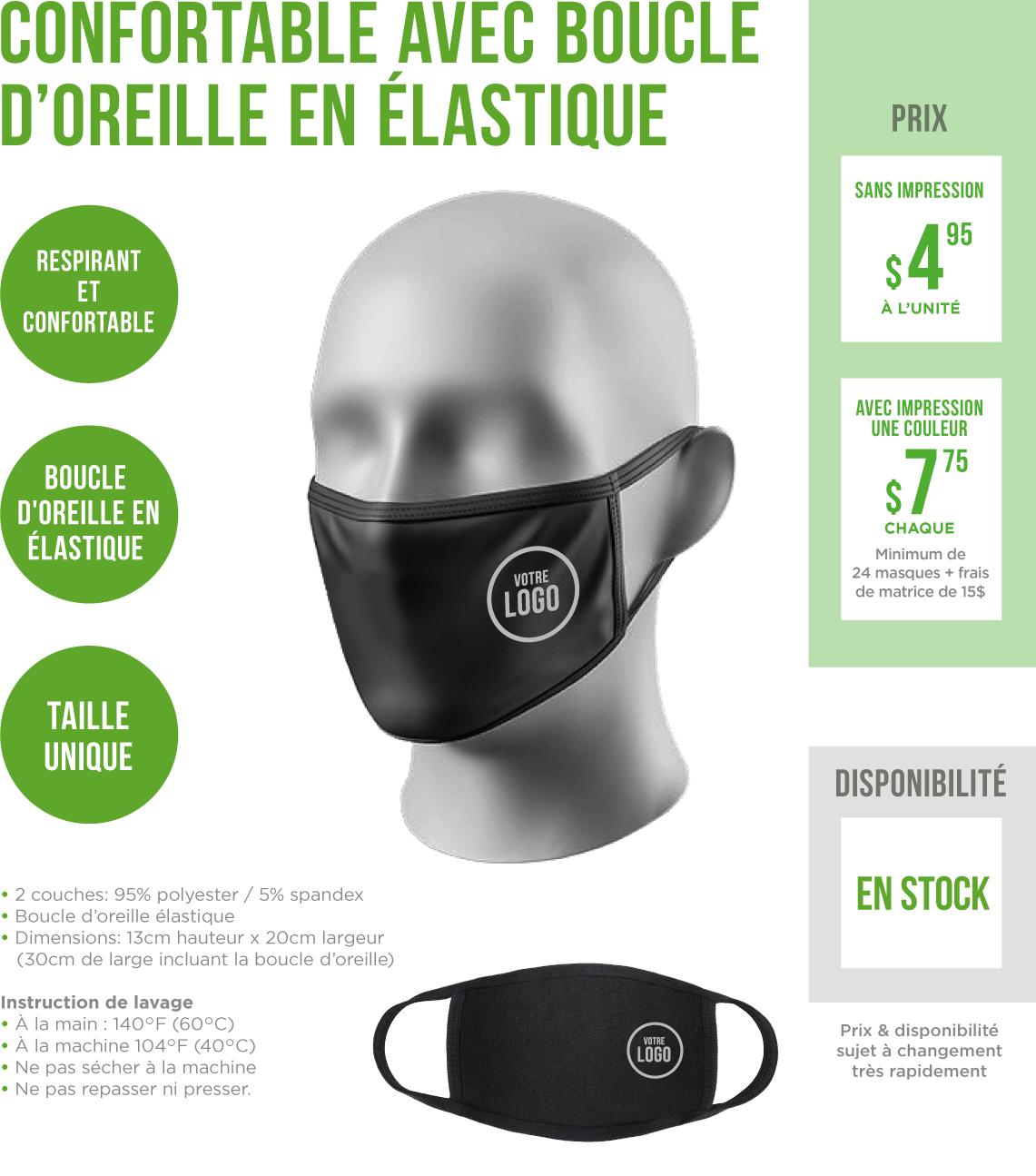 Masque6enstock
